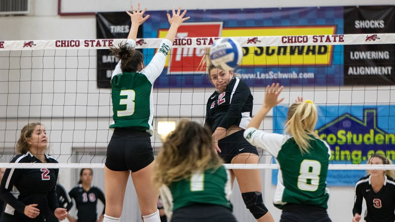 Four-set success in Seaside as 'Cats down Cal State Monterey Bay