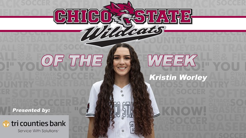 Worley's record-breaking exploits in 2020 net Wildcat of the Week honors - Chico State Athletics
